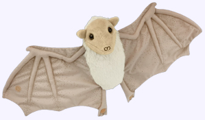 8 in. Stellaluna Plush Doll with 18 in. wing span