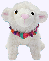 7.5 in. Sweet Pea and Friends Plush Doll