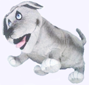 18 in. Giant Walter the Farting Dog Doll