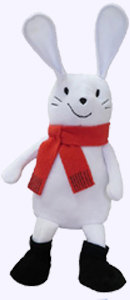 12 in. Bunny Slopes Plush Storybook Character