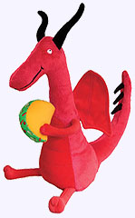 10 in. Dragons Love Tacos Plush Storybook Character
