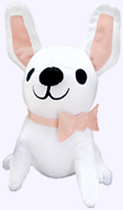 9.5 in. Gaston the dog Plush Storybook Character