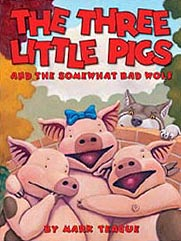 The Three Little Pig Hardcover Picture Book
