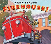 Firehouse! Hardcover Picture Book