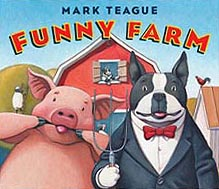 Funny Farm Hardcover Picture Book