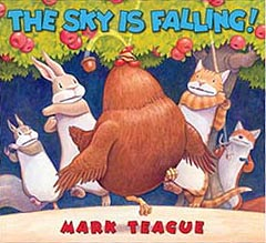 The Sky is Falling Hardcover Picture Book