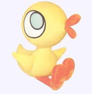 8 in. Duckling Soft Toy