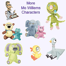 Mo Willems Plush Characters