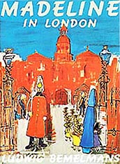 Madeline in London Hardcover Picture Book