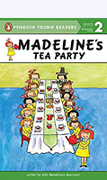 Madeline Tea Party Paperback Book