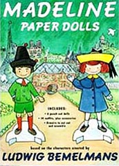 Madeline Paper Doll Book