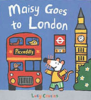 Maisy Goes to London Hardcover  Picture Book.