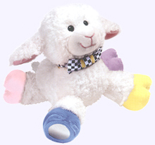 8 in. Mary's Little Lamb Plush Toy