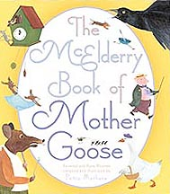 The McElderry Book of Mother Goose Hardcover Picture Book