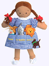 14 in. Dorothy Pocket Doll