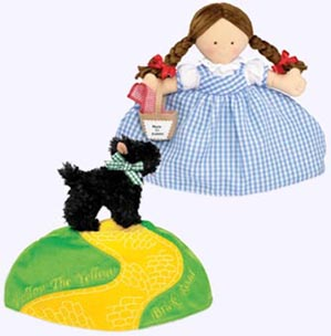 11 in. Dorothy and Toto Topsy Turvey�Soft Doll