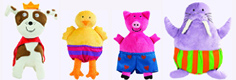 Todd Parr Plush Animals Dolls