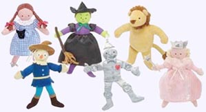 7.5 in. Wizard of Oz Characters
