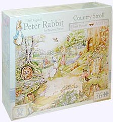 36 Piece Peter Rabbit Country Stroll Floor Puzzle
