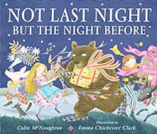 Not Last Night But the Night Before Out-Of-Print Hardcover Picture Book