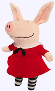 11 in. Olivia Plush Doll in Red Dress