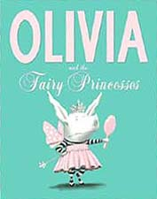 Olivia Fairy Princess Hardcover Picture Book