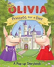 Olivia Princess for a Day Pop-up Book