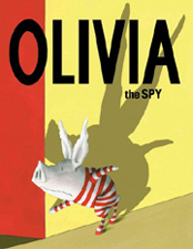 Olivia Spy Hardcover Picture Book
