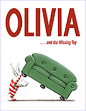 Olivia and the Missing Toy Hardvover Picture Book