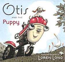 Otis and the Puppy Hardcover Picture Book