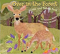 Over in the Forest Paperback Picture Book