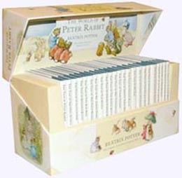 Gift Box Set of 23 original stories of Beatrix Potter