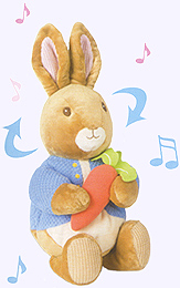Waggie Musical Peter Rabbit