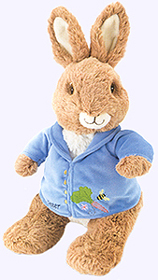 13 in. Peter Rabbit Plush Doll