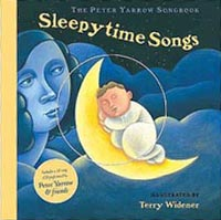 Sleepytime Songs Hardcover Picture Song Book with CD