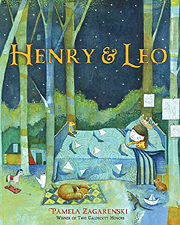 Henry & Leo the Lion Hardcover Picture Book.