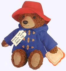 15 in. Big Screen Paddington Bear Plush Doll