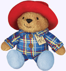 9 in. Sleepy Time Paddington Plush Storybook Character