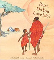 Papa Do You Love Me? Hardcover Picture Book