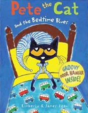 Pete the Cat and the Bedtime Blues Hardcover Picture Book
