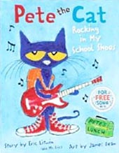 Pete the Cat Rocking in My School Shoes Hardcover Picture Book
