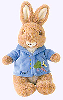 8 in. Peter Rabbit Plush Doll