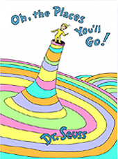 Oh, the Places You'll Go! Hardcover Pictue Book