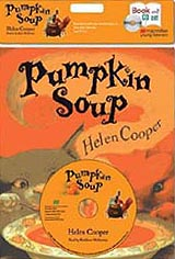 Pumpkin Soup Paperback Book with CD