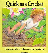 Quick as a Cricket Hardcover Picture Book