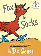 Fox in Socks Hardcover Storybook
