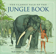 The Jungle Book Hardcover Picture Book