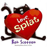 Love, Splat Hardcover Picture Book