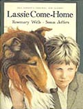 Lassie Come-Home Hardcover Illustrated Chapter Book