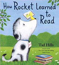 How Rocket Learned to Read Hardcover Picture Storybook